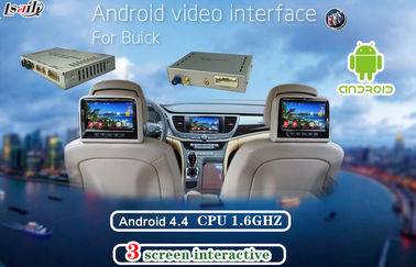 Çin For Buick CUE System Android Navigation Video Interface with Reverse System , Bluetooth Tedarikçi