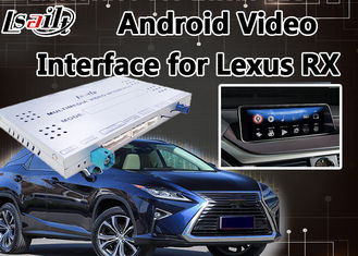 Android 9.0 Lexus Video Interface for RX 2013-2019 Mouse Control , Car GPS Navigation Mirrorlink RX270 RX450h RX350