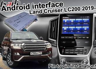 Digital Car Video Interface , Android Navigation Box Toyota Land Cruiser LC200 2019 Udio