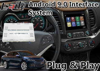 Chevrolet Car Video Interface , Android 9.0 GPS Navigation For Impala / Suburban Waze Spotify