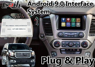 GMC Yukon Denal Android 9.0 Navigation Box for 2014-2020 year , Car Multimedia Video Interface