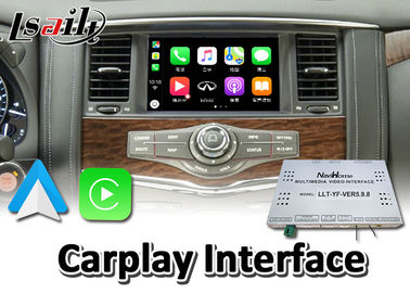 CE Wireless Carplay Interface Wired Android Auto Youtube for Nissan Armada Patrol