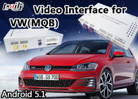 Çin Mirrorlink GPS Navigasyonlu VW Golf 7 2014-2017 için Android 6.0 Multimedya Video Arayüzü Fabrika