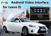 IS 2012-2017 GPS ile Lexus Video Arayüzü Navi Box Mirrorlink Android 6.0