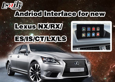 WIFI Ağı ile 2014 - 2017 RX / IS / ES / IS / NX / LX / LS için Android 6.0 Lexus Video Arayüzü