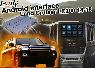 Çin Toyota Land Cruiser LC200 Android Navigasyon Video Arayüzü Yükseltme carplay android oto Distribütör